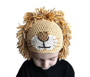 free-lion-hat-crochet-pattern