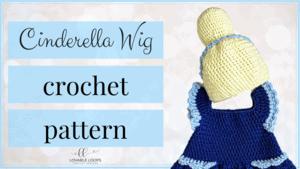 free cinderella wig crochet pattern