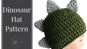 free dinosaur hat crochet pattern
