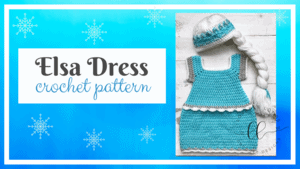 Elsa Dress Free Crochet Pattern