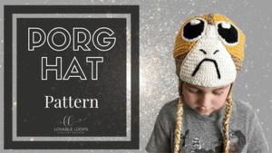 free porg hat crochet pattern