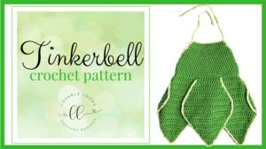 tinkerbell costume dress free crochet pattern