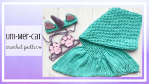 Unicorn Cat Mermaid Tail Free Crochet Pattern