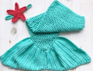 Free Mermaid Tail For Baby Crochet Pattern Baby Mermaid Tail