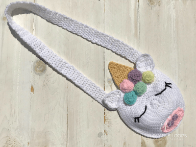 free unicorn purse crochet pattern