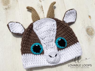 free goat hat crochet pattern