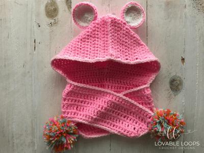 Free Care Bear Hooded Scarf Crochet Pattern Care Bear Costume