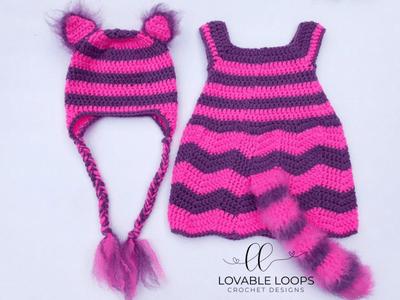 Free Cheshire Cat Costume Crochet Pattern