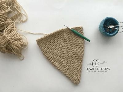 free scarecrow hat crochet pattern