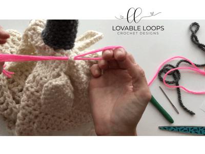 unicorn hooded scarf cowl crochet pattern