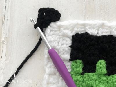 free frankenstein pillow crochet pattern