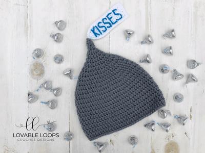 free hershey kiss hat crochet pattern