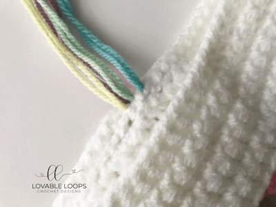 free unicorn tail crochet pattern