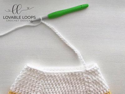 free candy corn bag crochet pattern