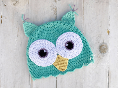 Free Owl Hat Crochet Pattern Baby Owl Hat Pattern Owl Winter Hat