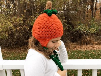 free pumpkin hat crochet pattern