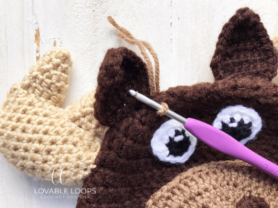 free moose hat crochet pattern