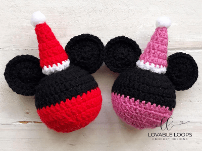 PDF Digital Download Vintage Crochet Pattern Mickey & Minnie Mouse ... | 300x400