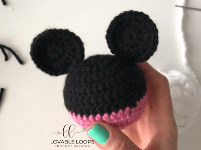free mickey mouse ornament crochet pattern