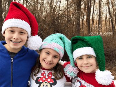 Free Santa Hat Crochet Pattern Crochet Christmas Hat Pattern