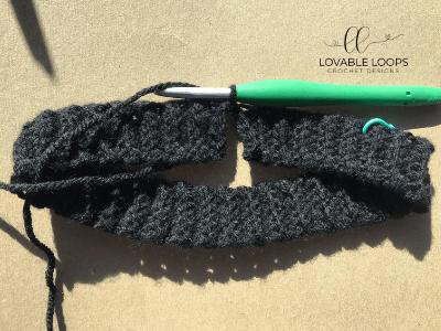 free houndstooth beanie crochet pattern