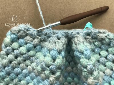 puff stitch beanie free crochet pattern