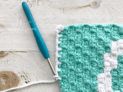 blanket crochet pattern letter c