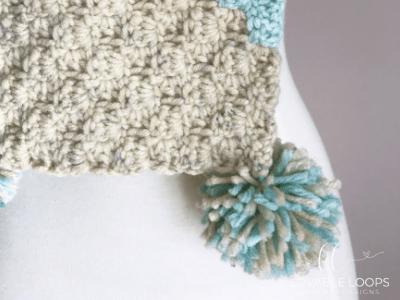 Free c2c Scarf Crochet Pattern   Corner to Corner Scarf Pattern