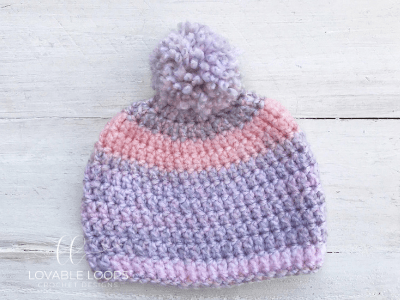 Free Baby Beanie Crochet Pattern Easy Baby Hat Pattern For Beginners
