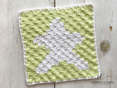 star graph free crochet pattern