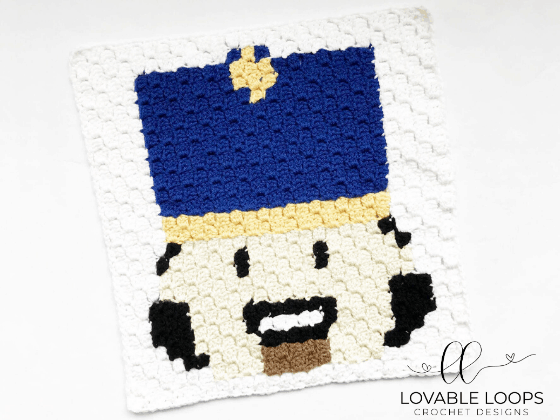 crochet nutcracker graph pattern