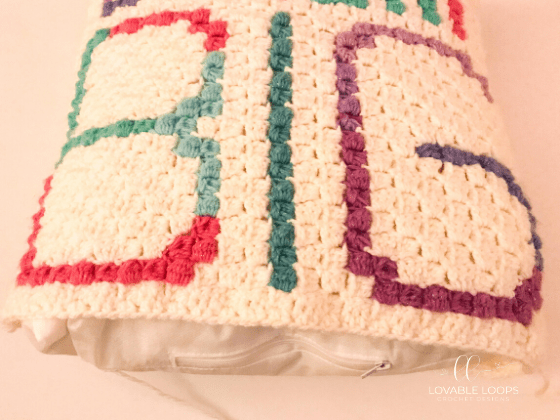 crochet c2c dream big pillow pattern free