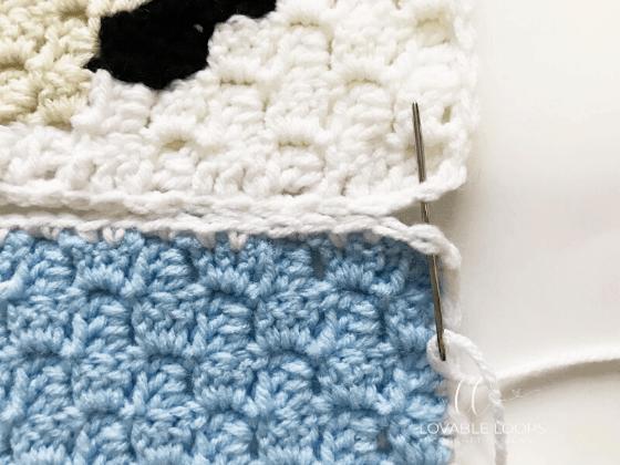 crochet christmas blanket free pattern