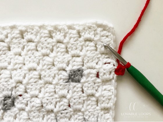 crochet christmas blanket free pattern