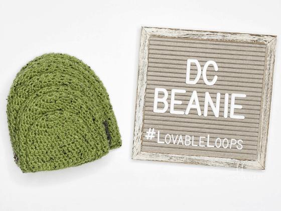 double crochet beanie hat free pattern