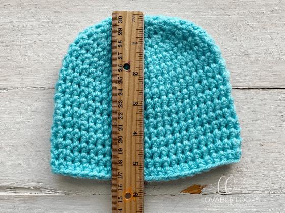 half double crochet beanie hat pattern free