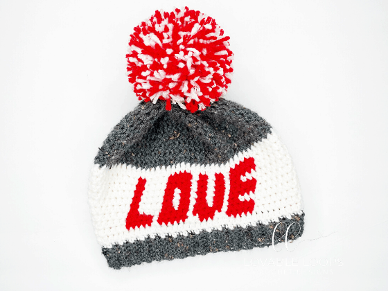 love beanie crochet pattern free