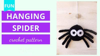 amigurumi spider crochet pattern tutorial
