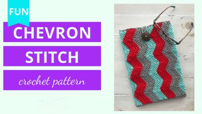 chevron crochet stitch video tutorial