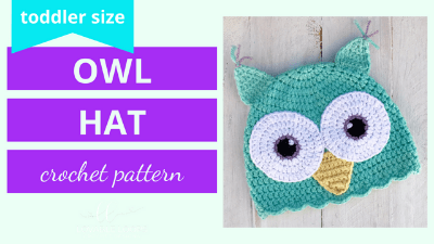 owl hat crochet pattern video tutorial