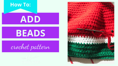 how to add beads to crochet tutorial