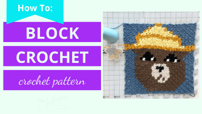 how to block crochet tutorial