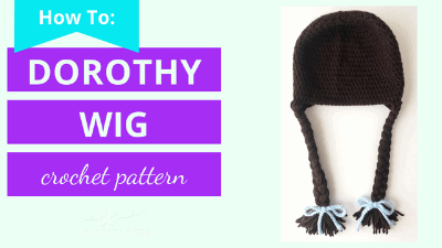 how to turn a beanie into a dorothy wig