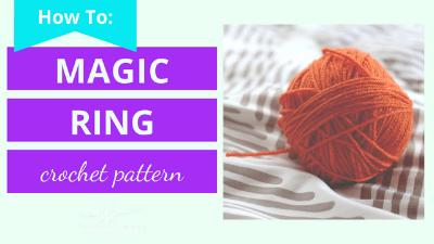 magic ring circle crochet tutorial