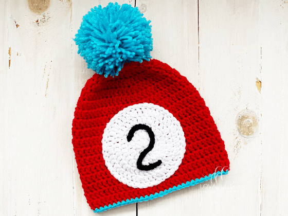 dr seuss thing 1 and thing 2 hats crochet pattern free