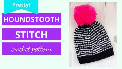 houndstooth stitch crochet tutorial