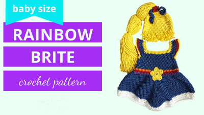 rainbow brite crochet pattern tutorial