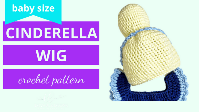 cinderella wig crochet pattern tutorial