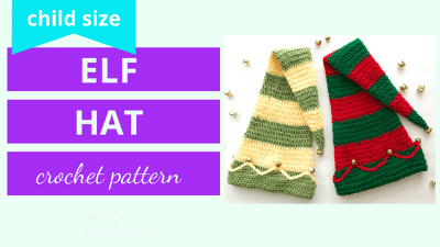 elf hat crochet pattern tutorial