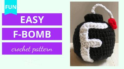 f bomb crochet pattern tutorial